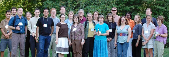 Participants in the 2007 Workshop
