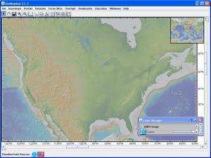 GeoMapApp view of North America