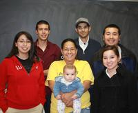2008 LSAMP Scholarship class at UNM