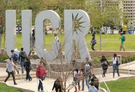 UCR campus sign