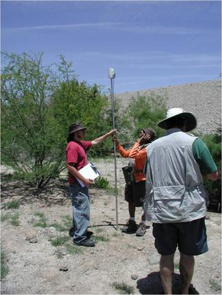 UTEP Geology students doing field-based research