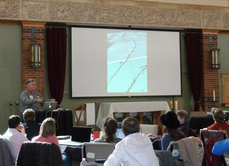 Vince Cronin talks about integrating engineering and geoscience at the  March 2013 Integrate workshop