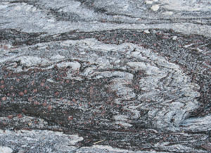 Photo of schist in Death Valley
