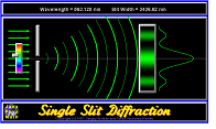 Single Slit Simulator