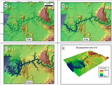Grand Canyon simulation output