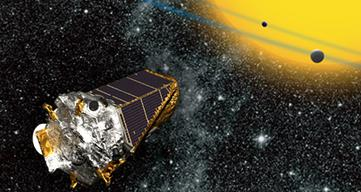 Kepler Mission artist's rendition