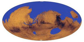 Mars Global Ocean animation