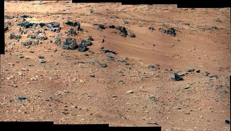 """Rocknest"" Image from Curiosity Rover Sol 52"