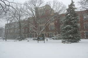 UWO in winter