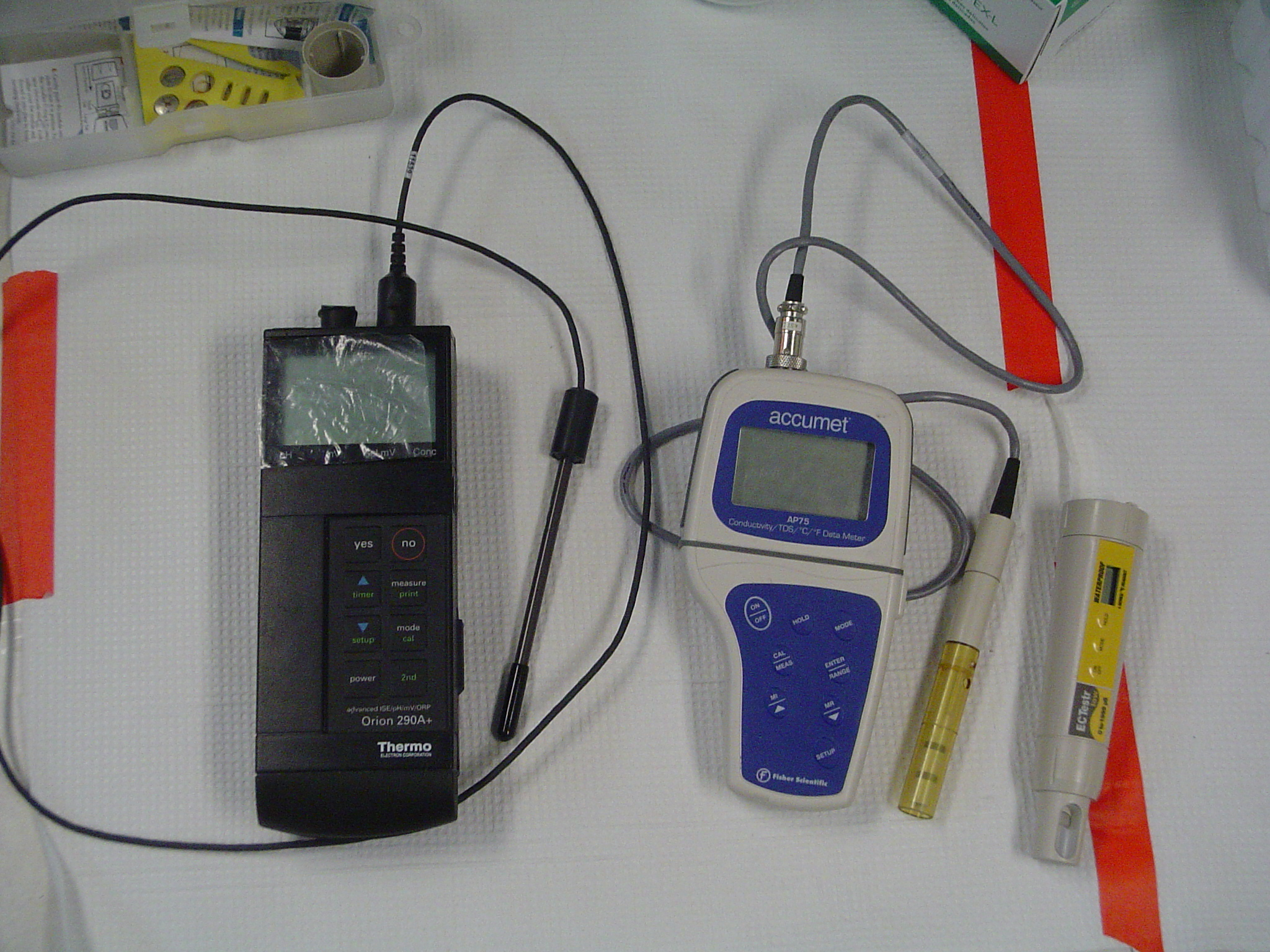 Electrical Conductivity Measurement : Water and soil characterization ph electrical