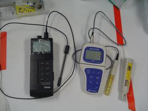 EC and pH meters