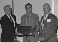 Henry H. Woodard Recieving Neil Miner Award