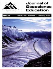 Cover of January 2000 JGE