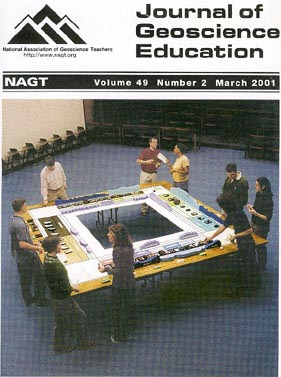 Cover of Mar 2001 JGE issue