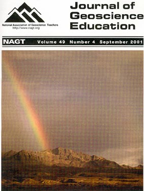 Cover of JGE Septempber 2001