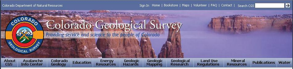 CO Geologic Survey image