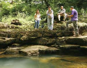 2009 GTIP Interns at Mammoth Cave National Park