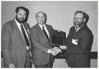Richard C. Anderson Recieving Neil Miner Award