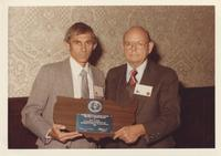 Robert E. Boyer Recieves the Neil Miner Award