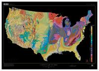 Generalized Geologic Map of the United States