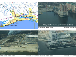 Images of additional Hurricane Katrina Damage.