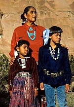 Three Navajo.