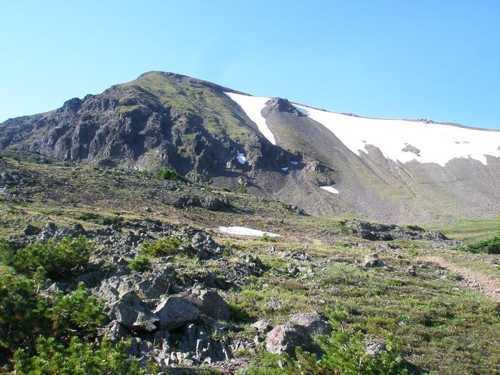Approach to Hyalite Peak