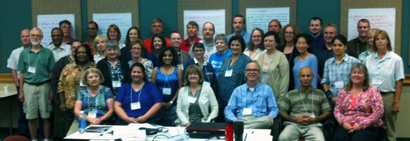 Participants in the 2013 SAGE 2YC geoscience careers workshop in Austin, Texas