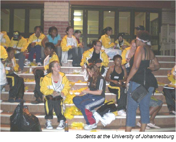 University of Johannesburg Students