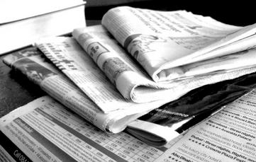 Newspapers B&W