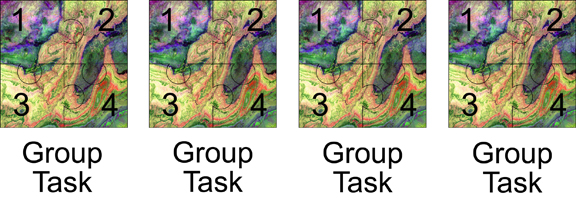 graphic of jigsaw group task