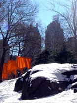 Gates Exhibit in Central Park