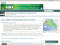 Go to http://serc.carleton.edu/NAGTWorkshops/hazards/events/japan2011.html