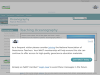 Go to /NAGTWorkshops/oceanography/index.html