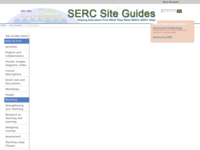 Go to /serc/site_guides/bio.html