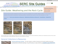 Go to /serc/site_guides/weathering_rock.html