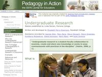 Go to http://serc.carleton.edu/sp/library/studentresearch/index.html