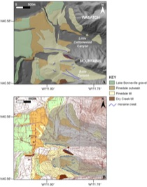 Glacial and Lacustrine Geology of the Mouth of Little Cottonwood and Bells Canyons, Wasatch Mountains