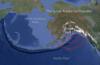 Alaska tectonics and earthquakes animation