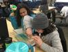 ANSEP Middle School Academy students explore factors that control tsunami inundation.