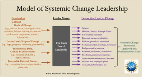 Model of Systemic Change Leadership