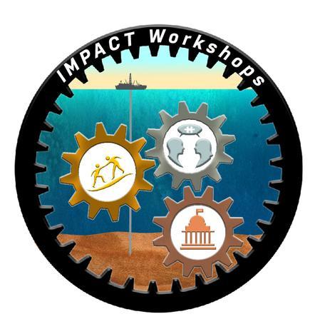 2021 Scientific Ocean Drilling IMPACT workshops logo