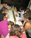 Cutting Edge Workshop 2012 - participants working
