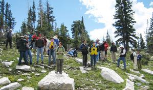 Climate Change 2010 field trip 1