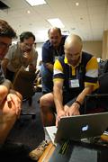 Computer demo at Course Design Workshop