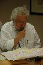course design workshop participant in thought