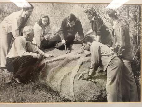 Gwynne's Rock Historical Photo