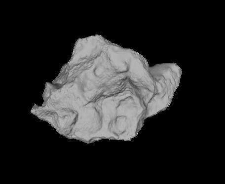 Rendering of Meteorite
