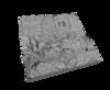 Rendering of South Ames 3D Printable Model