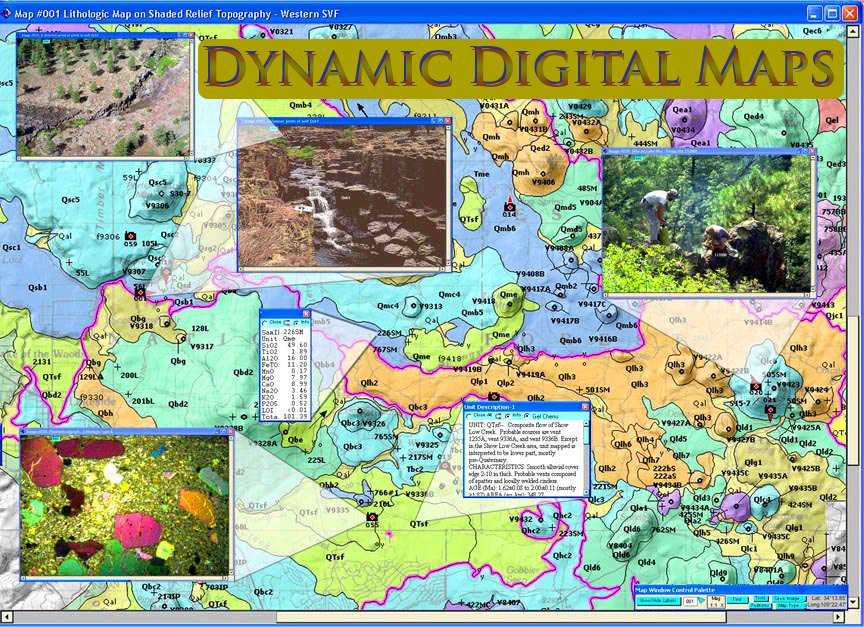 Dynamic digital maps an example of a dynamic digital map including overlays of photographs and data gumiabroncs Image collections